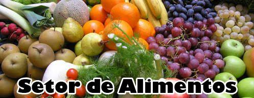 Analise do setor de Alimentos 2010 a 2014